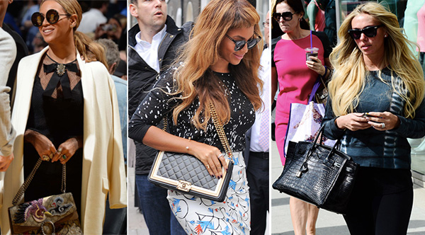 The Many Bags Of Beyoncé