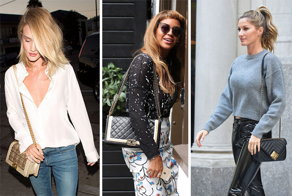 777c8697b28791 Celebs and Their Favorite Chanel Bags – Celebrity Bag Styles