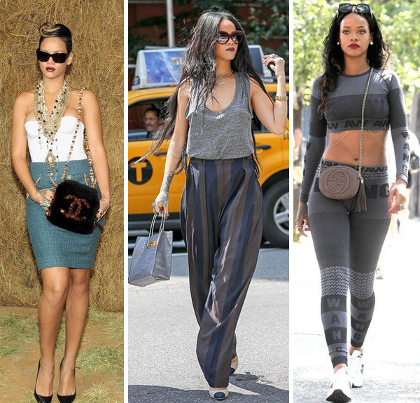 The Many Bags Of Rihanna Celebrity Bag Styles